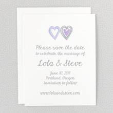 Daydream---Letterpress Save the Date