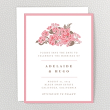 English Rose - Save the Date
