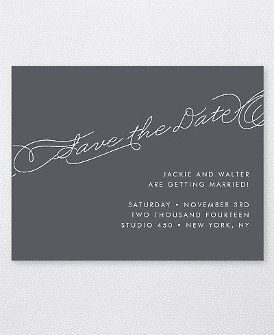 Atlantic Save the Date Card