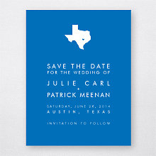 Austin Skyline---Save the Date