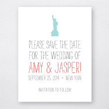 Big Day New York---Letterpress Save the Date