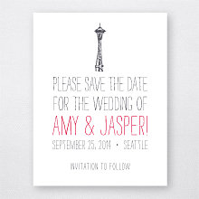 Big Day Seattle - Letterpress Save the Date