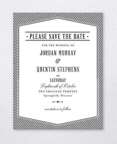 Havana Save the Date Card