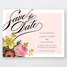 La Vie en Rose---Save the Date