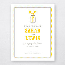 Lemonade Stand - Save the Date