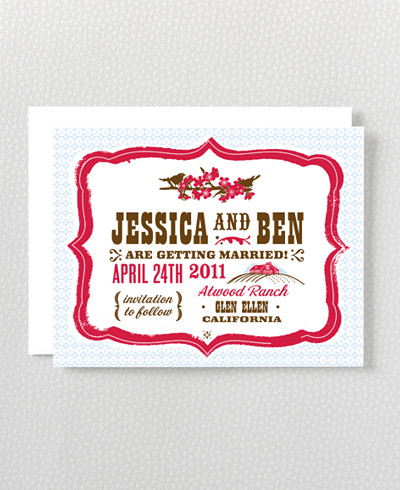 Heartland Save the Date Card