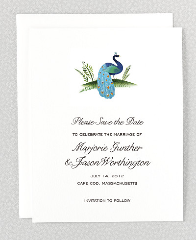 Jaipur Save the Date Card