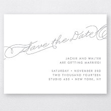 Atlantic - Foil/Letterpress Save the Date
