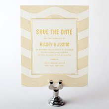 Parker: Foil/Letterpress Save the Date