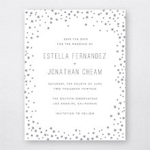 Shooting Star: Foil/Letterpress Save the Date