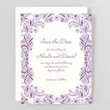 Provence - Letterpress Save the Date