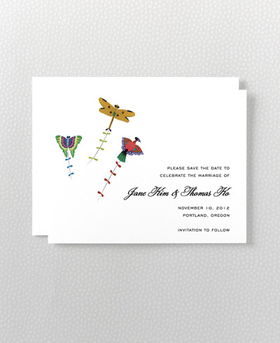 Summer Palace Save the Date Card