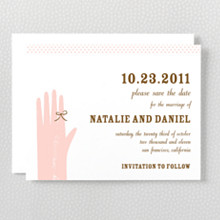 Sweetheart---Letterpress Save the Date