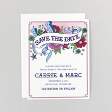 Vintage Tattoo---Save the Date