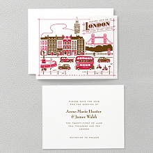 Visit London: Letterpress Save the Date