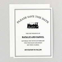 Wildwood - Letterpress Save the Date