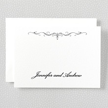 Biltmore---Letterpress Folded Note Card