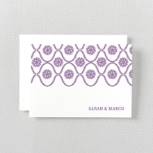 Bohemian - Letterpress Folded Note Card