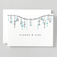 Chandelier - Folded Note Card