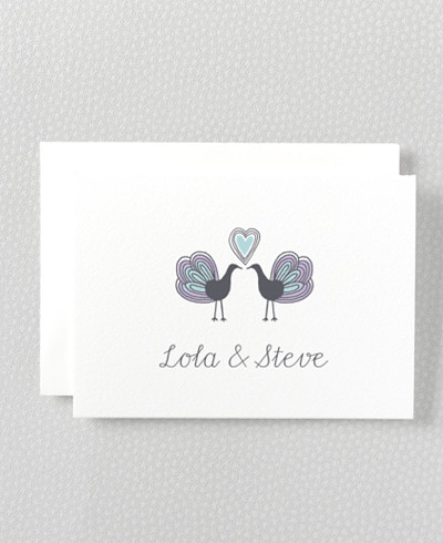Daydream Letterpress Folded Note Card