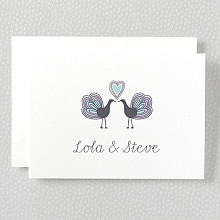Daydream - Letterpress Folded Note Card