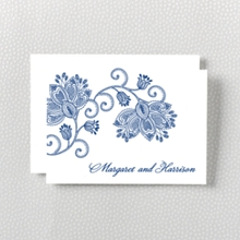Duchesse - Letterpress Folded Note Card