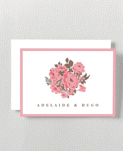 English Rose Folded Note Card
