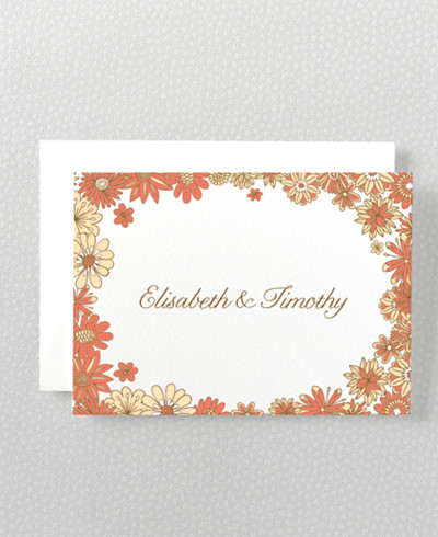 Evelyn Folded Note Card