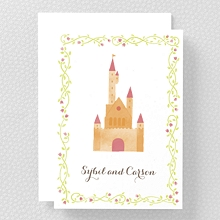 Happily Ever After---Folded Note Card