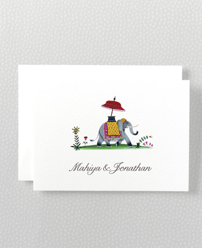 Jaipur Folded Note Card