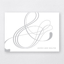 Atlantic: Foil/Letterpress Folded Note Card