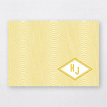 Parker - Foil/Letterpress Folded Note Card