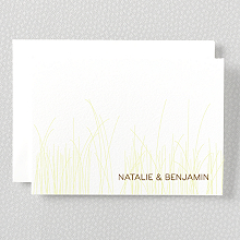 Meadow: Letterpress Folded Note Card
