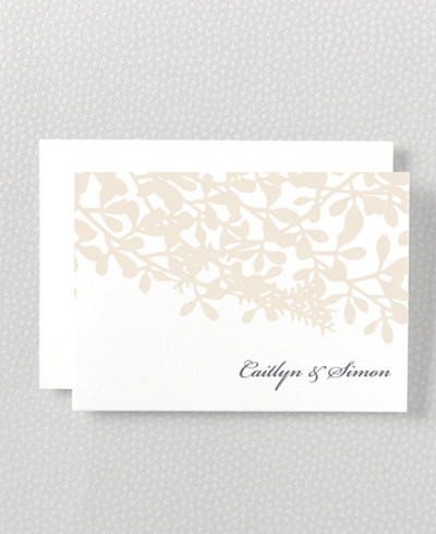 Midsummer Folded Note Card