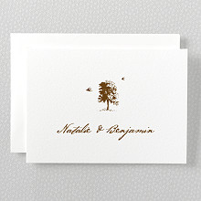 Naturalist: Letterpress Folded Note Card