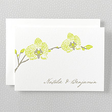 Orchid - Folded Note Card