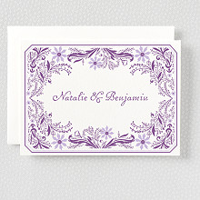 Provence - Letterpress Folded Note Card