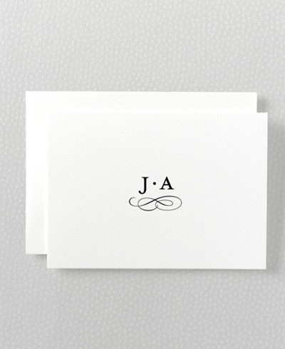Ritz Letterpress Folded Note Card
