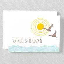 Seagulls - Folded Note Card