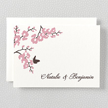 Shangri-La - Letterpress Folded Note Card