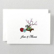 Summer Palace - Folded Note Card