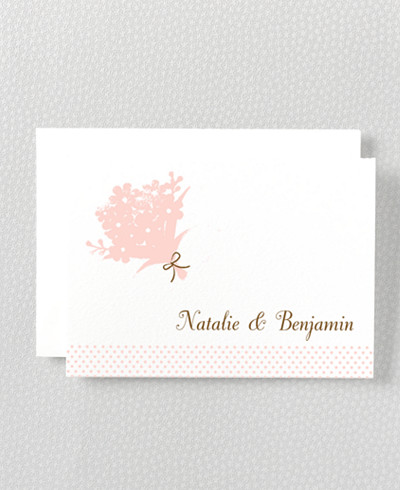 Sweetheart Folded Note Card