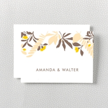 Tropic - Letterpress Folded Note Card