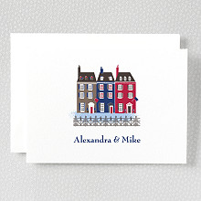 Visit Boston---Folded Note Card