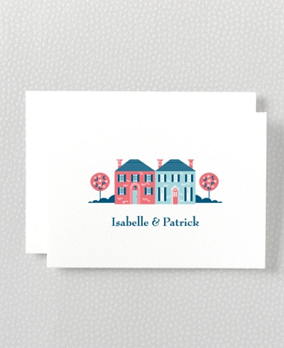 Visit Washington, D.C. Letterpress Folded Note Card
