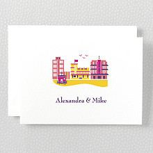 Visit Miami---Folded Note Card