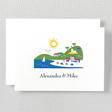 Visit Riviera---Folded Note Card