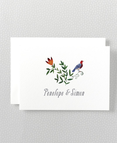 Wildflowers Folded Note Card