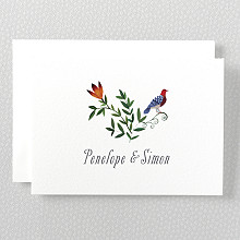 Wildflowers - Folded Note Card
