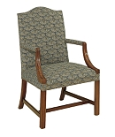 Small Martha Washington Chair